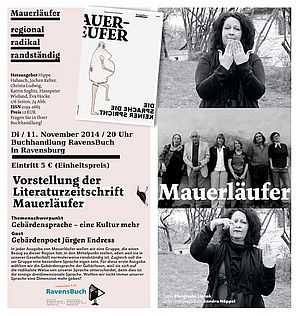 Cover Mauerläufer 2014